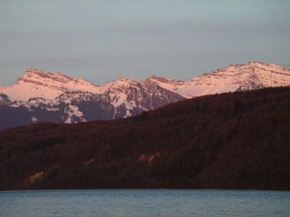 Obersee mit Speer und Federispitz