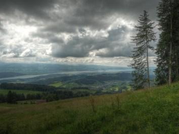 Vom Chrinnenberg Richtung Seedamm