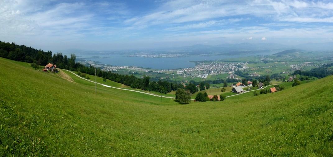 Vom Stöcklichchrüz Richtung Zürich Oberland