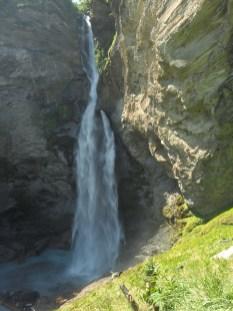 120m hoher Reichenbachfall - Sherlock Holmes lässt grüssen