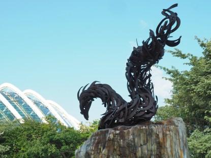Skulptur im Garden by the Bay