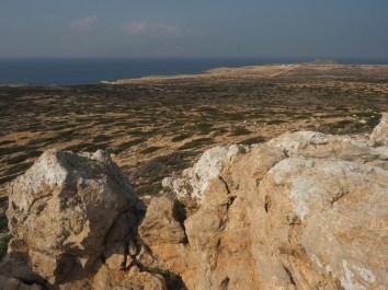 Höchster Punkt im Süden 98 müM: Richtung Aghios Theodoros
