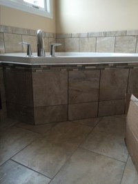 Bathroom Tile and Tub Surround - HQ Discount Flooring