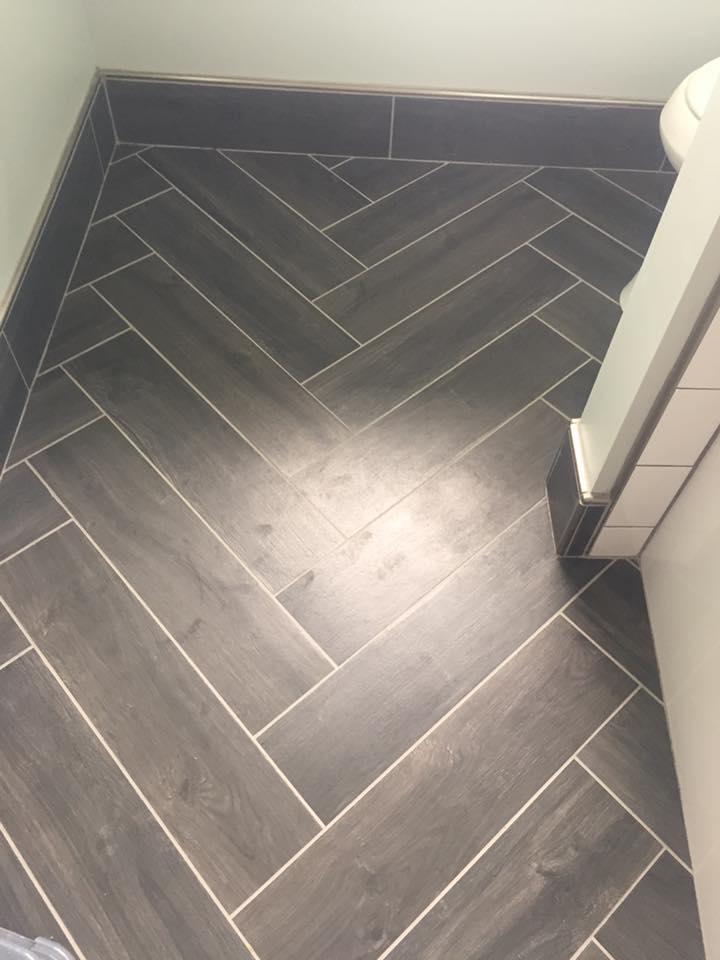 Herringbone Pattern Tile