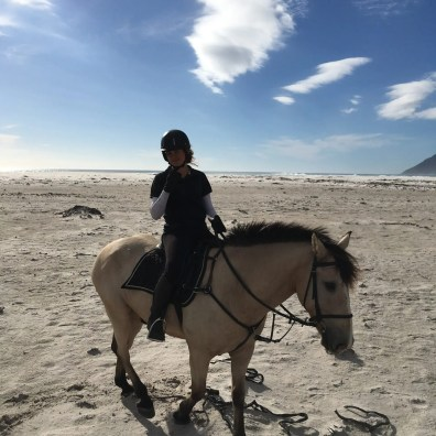 Beach riding for the win