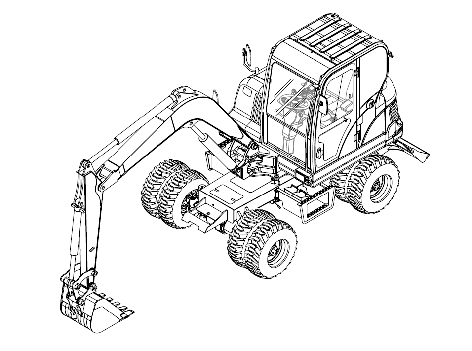 Bobcat E55W Compact Excavator Service Repair Manual