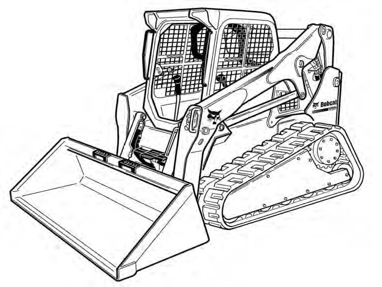 Bobcat T770 Compact Track Loader Service Repair Manual