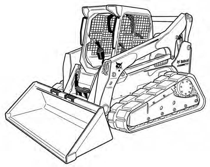 Bobcat T870 Compact Track Loader Service Repair Manual