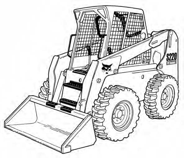 Bobcat S220 Skid-Steer Loader Service Repair Manual