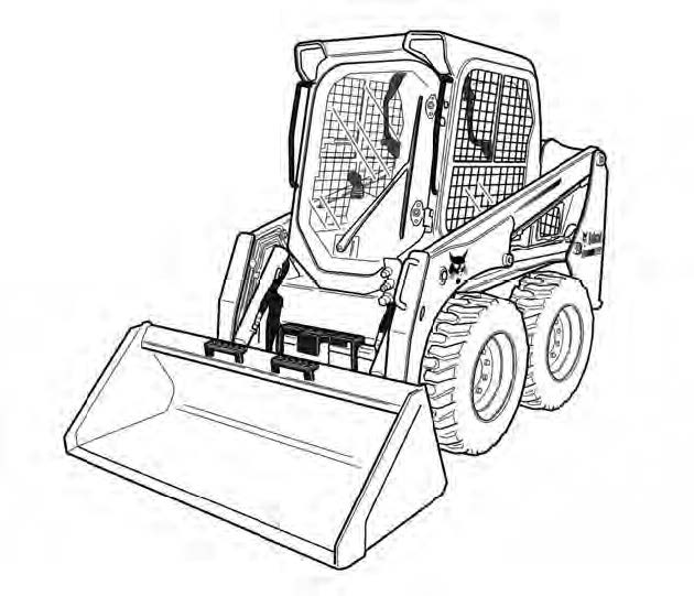 Bobcat S450 Skid-Steer Loader Service Repair Manual