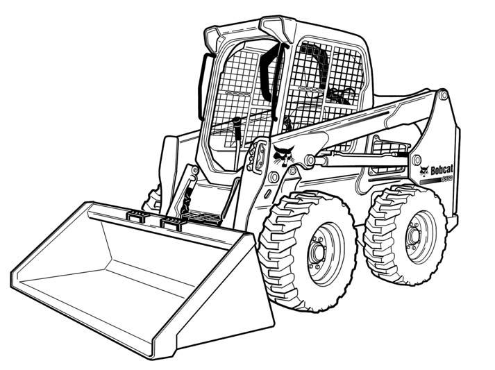 Bobcat S550 Skid-Steer Loader Service Repair Manual