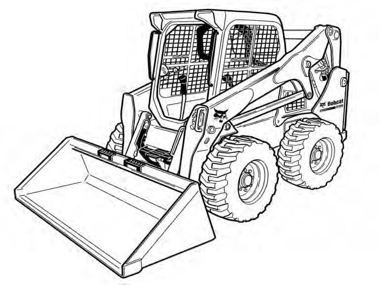 Bobcat S750 Skid-Steer Loader Service Repair Manual