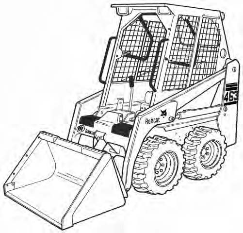 Bobcat 463 Loader Service Repair Manual Download