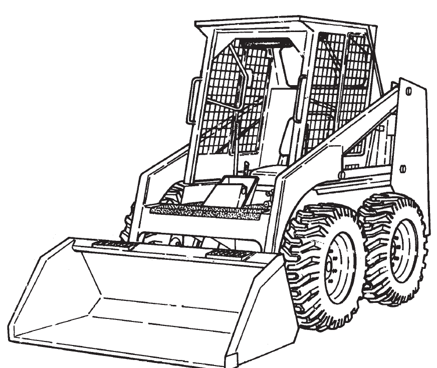 Bobcat 542B Skid-Steer Loader Service Repair Manual Download