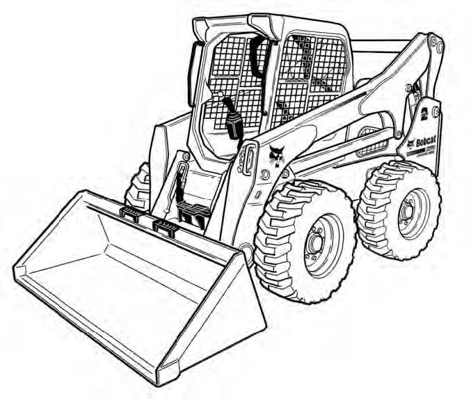 Bobcat A770 All-Wheel Steer Loader Service Repair Manual