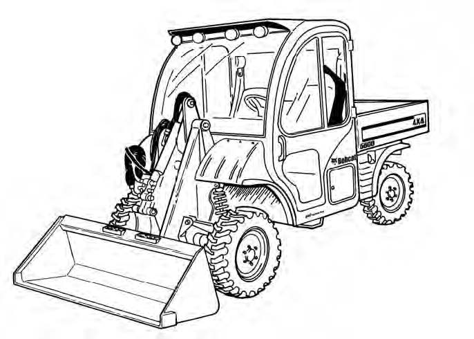 Toolcat 5600 Utility Work Machine Service Repair Manual