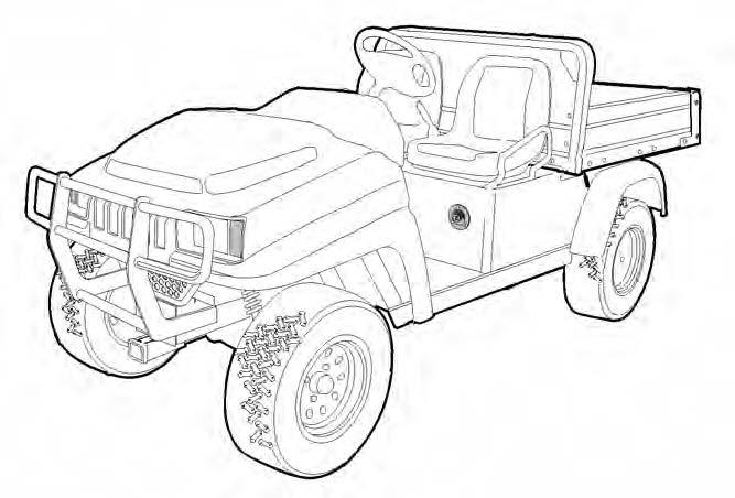 Bobcat 2100 2100S Utility Vehicle Service Repair Manual