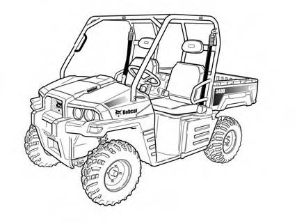 Bobcat 3400 3400XL Utility Vehicle Service Repair Manual