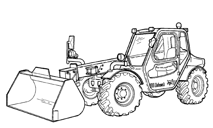 Bobcat V518 VersaHANDLER Service Repair Manual Download(S