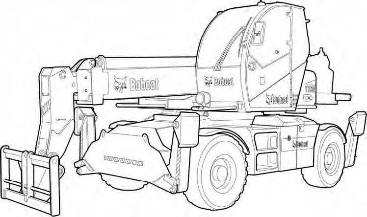 Bobcat TR38160 Telescopic Handler Service Repair Manual