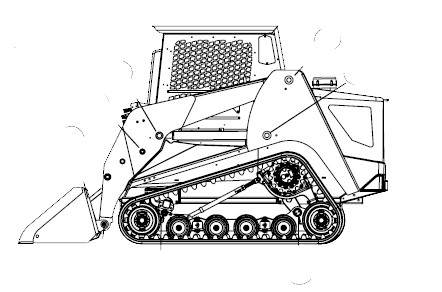 Terex PT-100G/Pt-100G Forestry Compact Track Loader