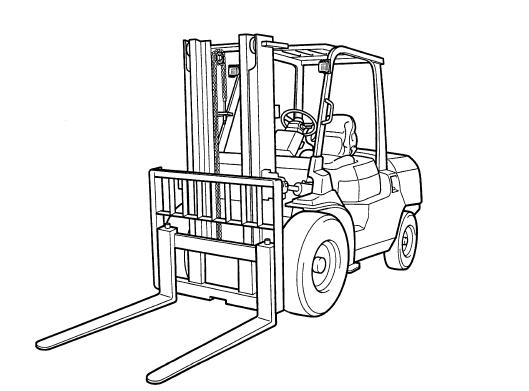 Toyota Forklift 7FD/FG 35-50 Service Repair Manual Download