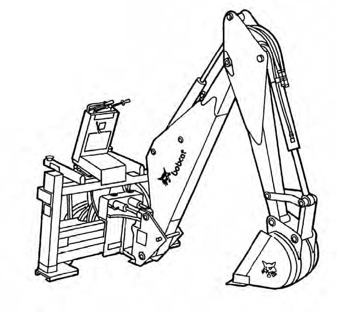 Bobcat Backhoe Service Repair Manual Download(S/N