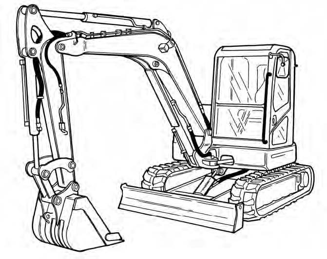 Bobcat E80 Compact Excavator Service Repair Manual