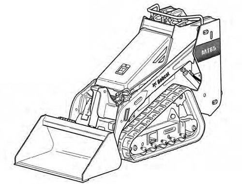 Bobcat MT85 Mini Track Loader Service Repair Manual