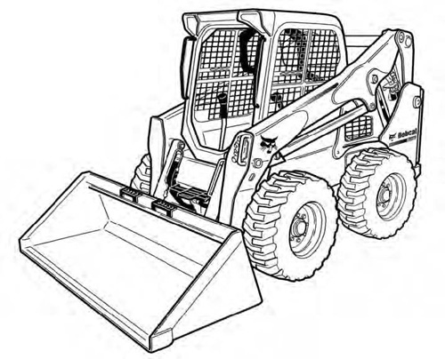 Bobcat S590 Skid-Steer Loader Service Repair Manual