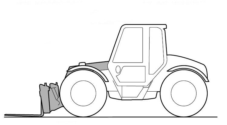 JCB Loadall (Rough Terrain Variable Reach Truck) 533-105
