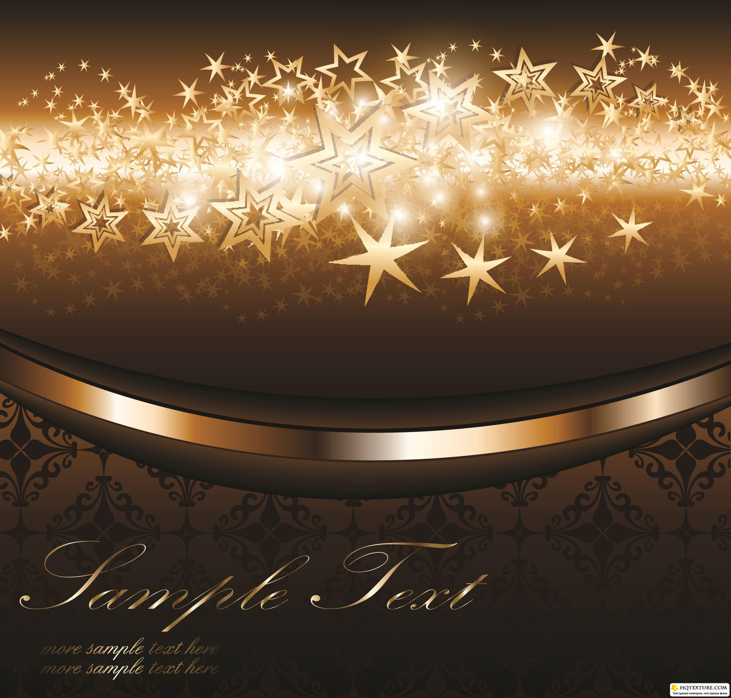 Stock Vector  Elegant Gold Backgrounds » Векторные