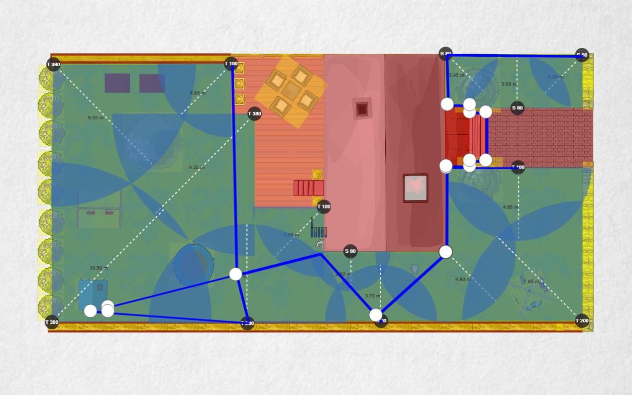 Sprinklersystem Planer