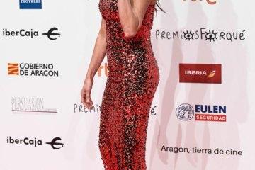 Пенелопа Крус в розкішній сукні на церемонії в Сарагосі