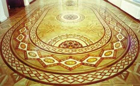 мозаїчний паркет фото