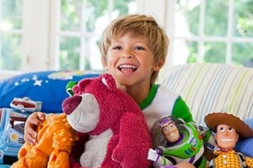 мягкие игрушки и дети фото