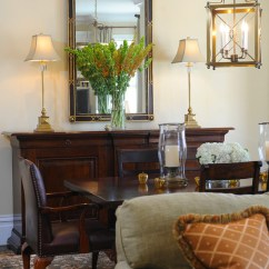 What Color Should You Paint Your Living Room With Brown Furniture Blinds For Bay Windows Dining Room: Buffet Table Decorating Ideas ...