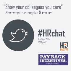 #HRChat Recap: Show Your Colleagues You Care