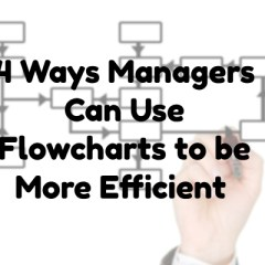 4 Ways Managers Can Use Flowcharts to Be More Efficient