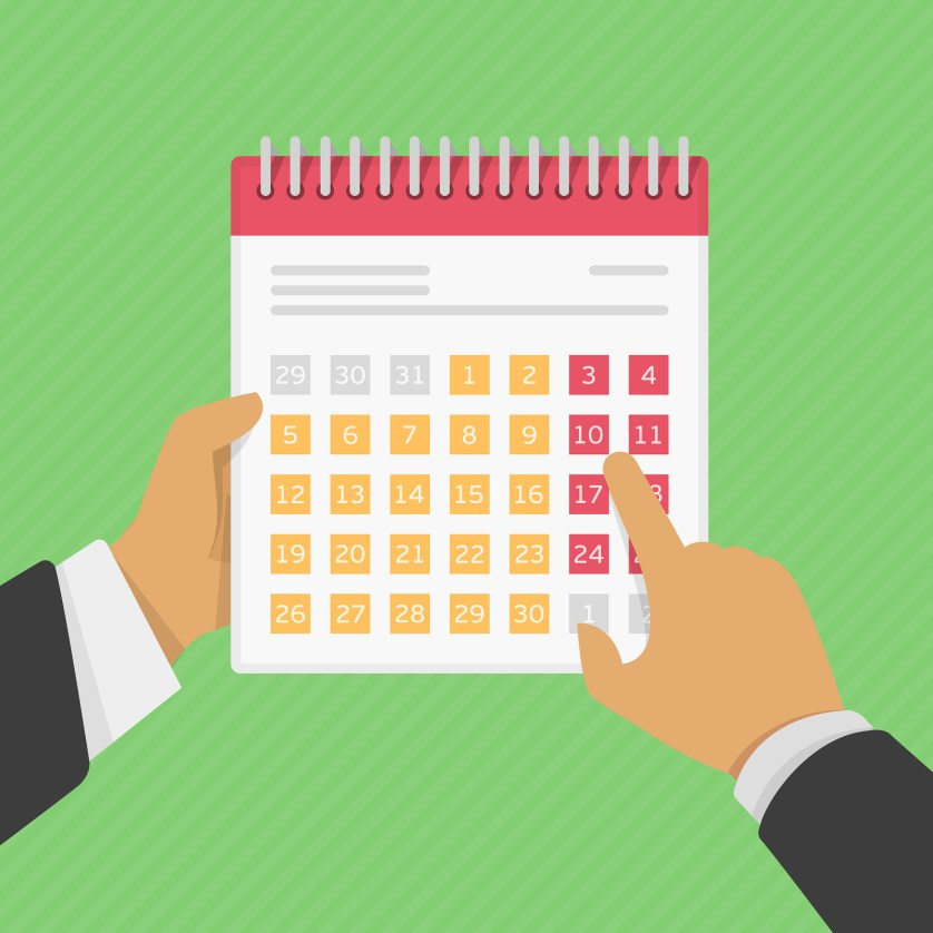 Applicant tracking and calendars
