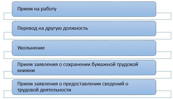 Новый вид отчетности — СЗВ-ТД