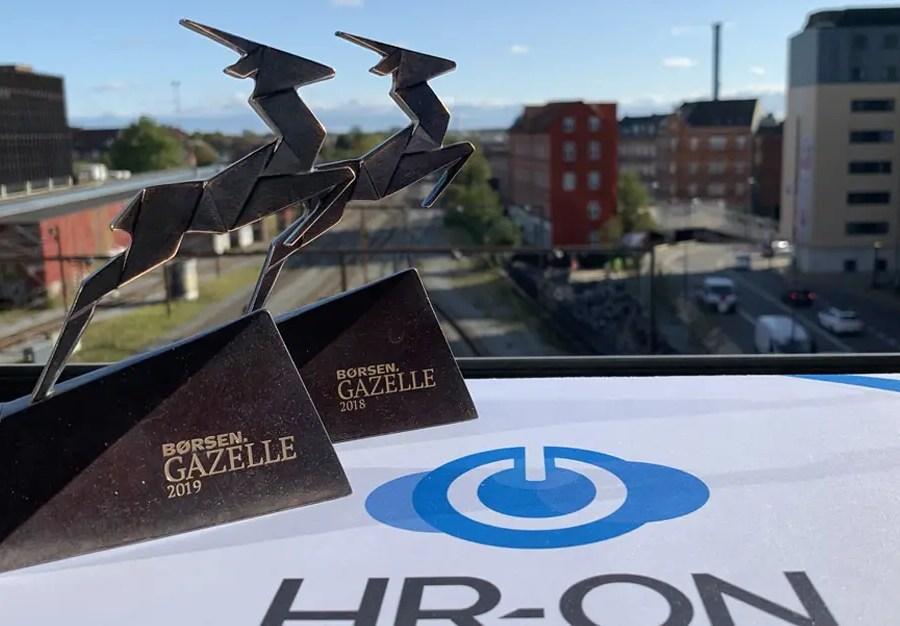 HR-ONs seond Gazelle award