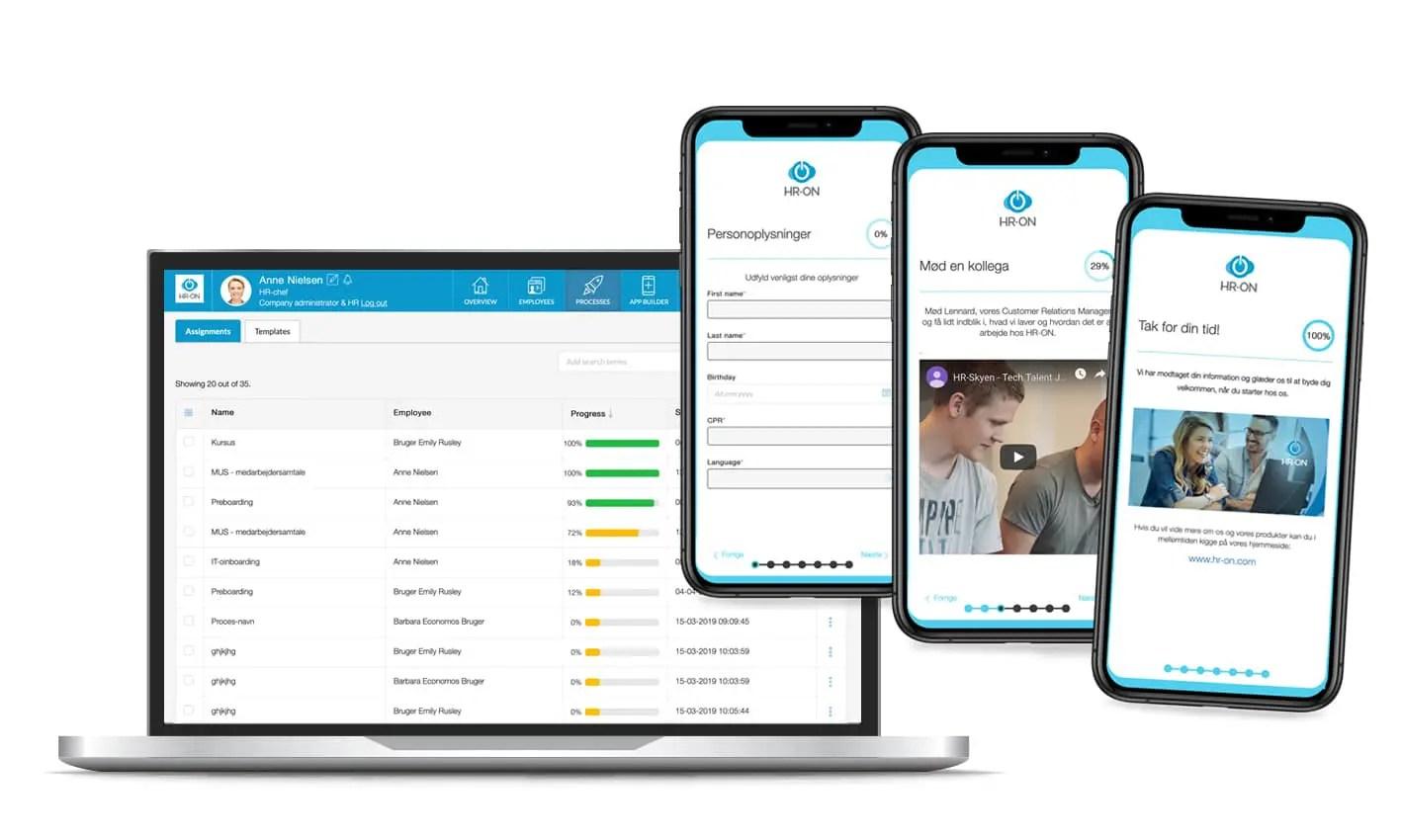 App Builder hjælper med at onboarde nye medarbejdere