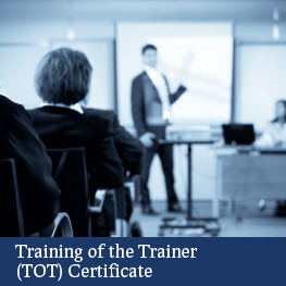 Training of Trainer (TOT®) Certificate