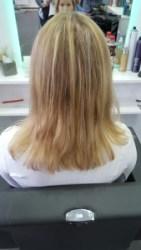 Haarverlängerung 2 farbig in Bargteheide