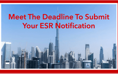 Extension To ESR Filing & Notification Granted Until 31st January 2021