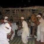 بخشی از مراسم زار در خرمشهر در سال ۲۰۱۱ – عکس از میدل ایست آی