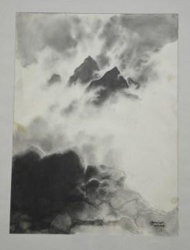 """""""Góry"""" by Zdzisław Beksiński"""