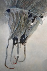 ZĘ (detail) by Zdzisław Beksiński
