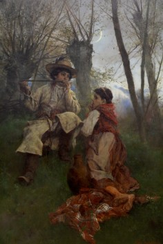 'Idylle' by Witold Pruszkowski